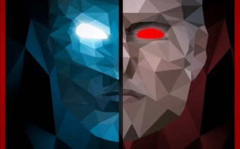 Batman vs superman poster by david david djanbaz
