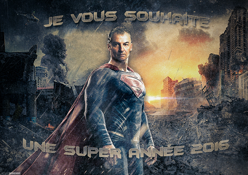 Compositing Batman v Superman by JACQUES BERREHOUC