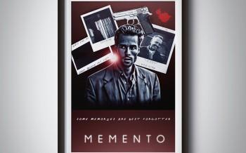 Poster sur le thème du film Memento poster by david djanbaz