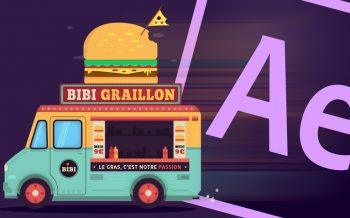 tuto animation foodtruck after effects