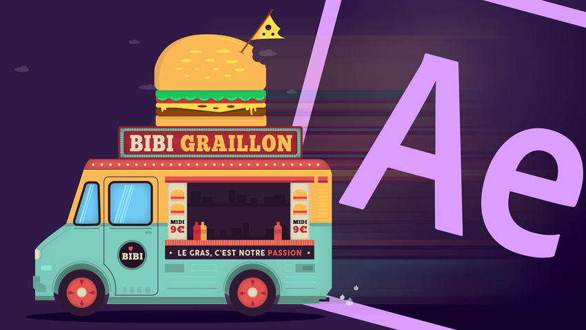 Animer une illustration avec After Effects