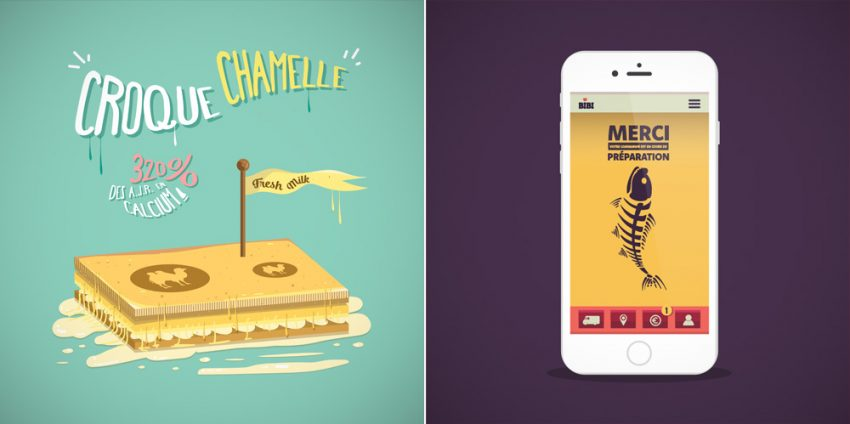 tuto illustration croque chamelle commande ok