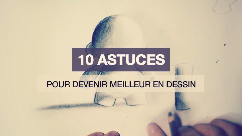 10 astuces dessin