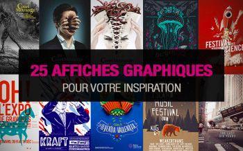 25 affiches graphiques pour votre inspiration