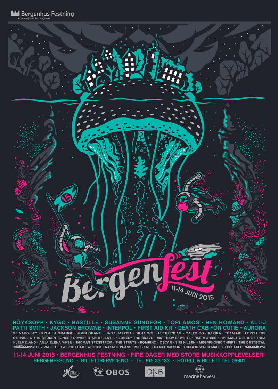 affiche bergen festival 2015