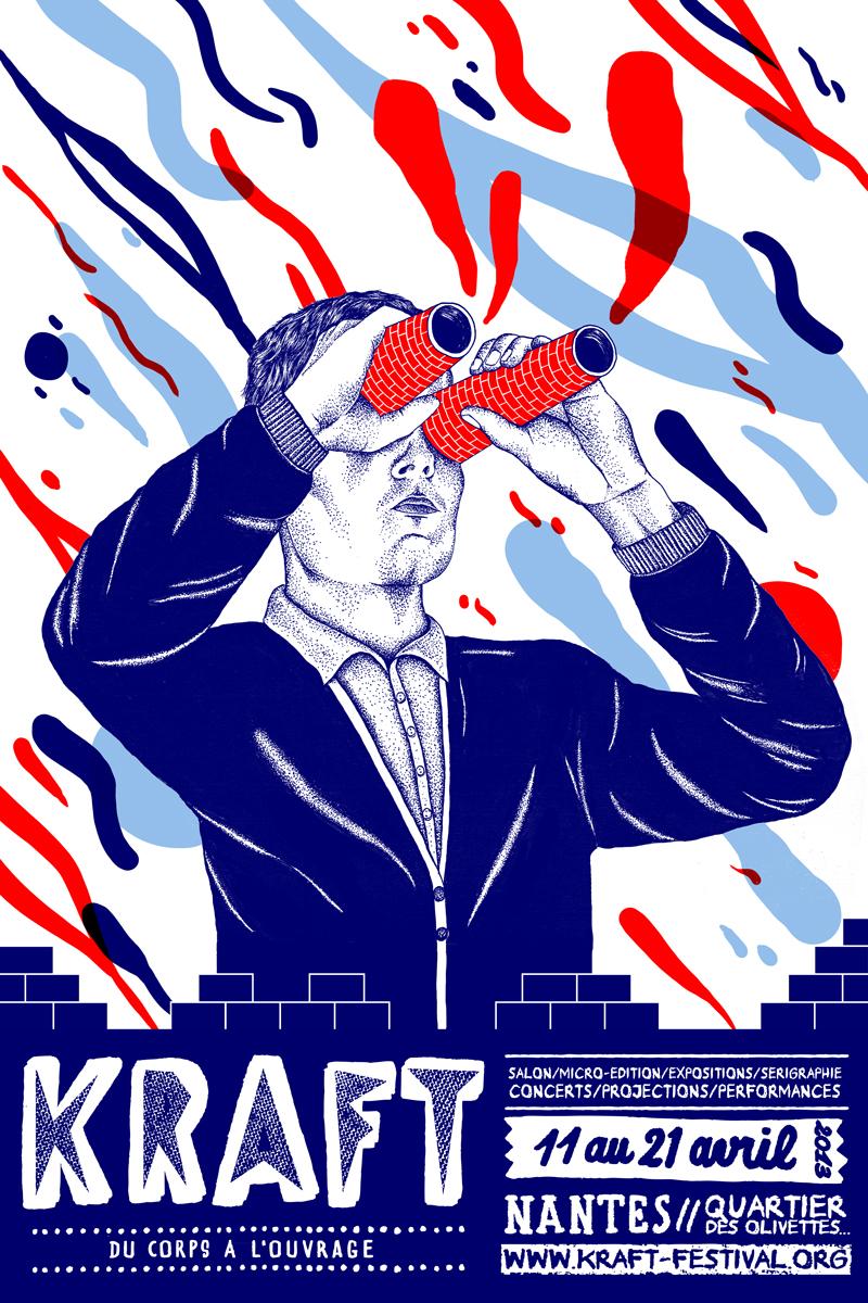 affiche festival kraft 2013