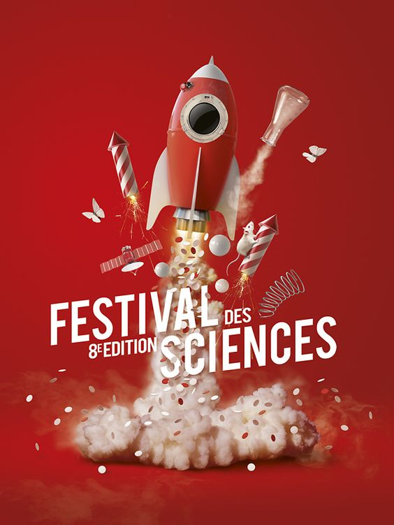 affiche festival des sciences studio kerozen