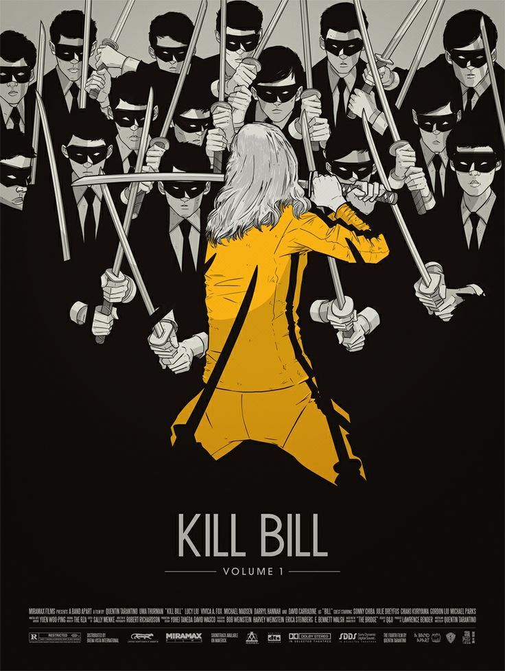 affiche kill bill poster art