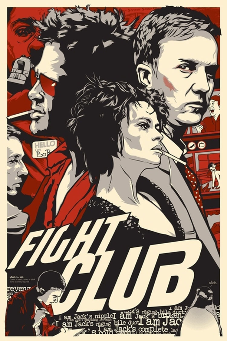 poster fight club art