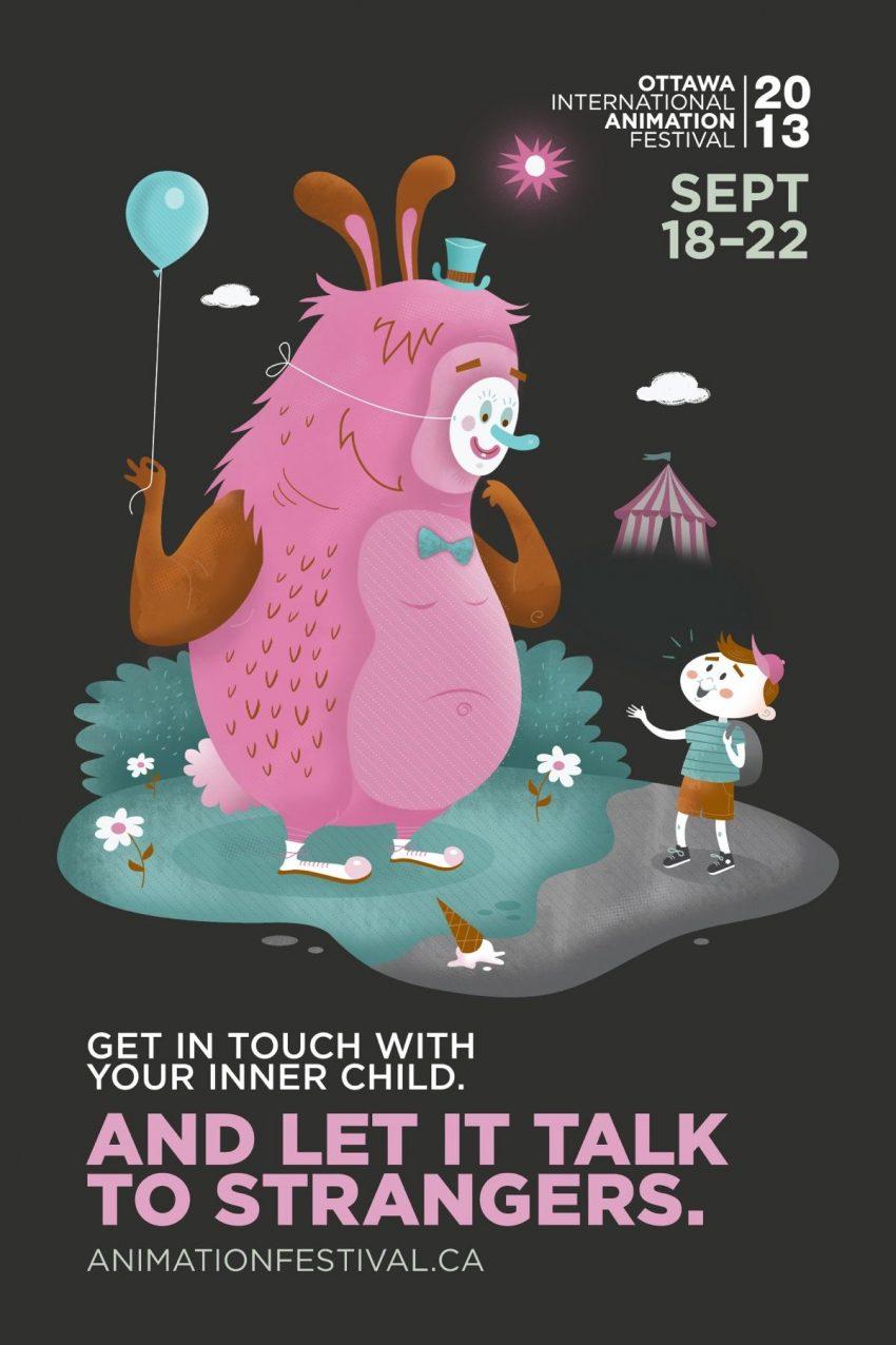 poster ottawa international animation festival