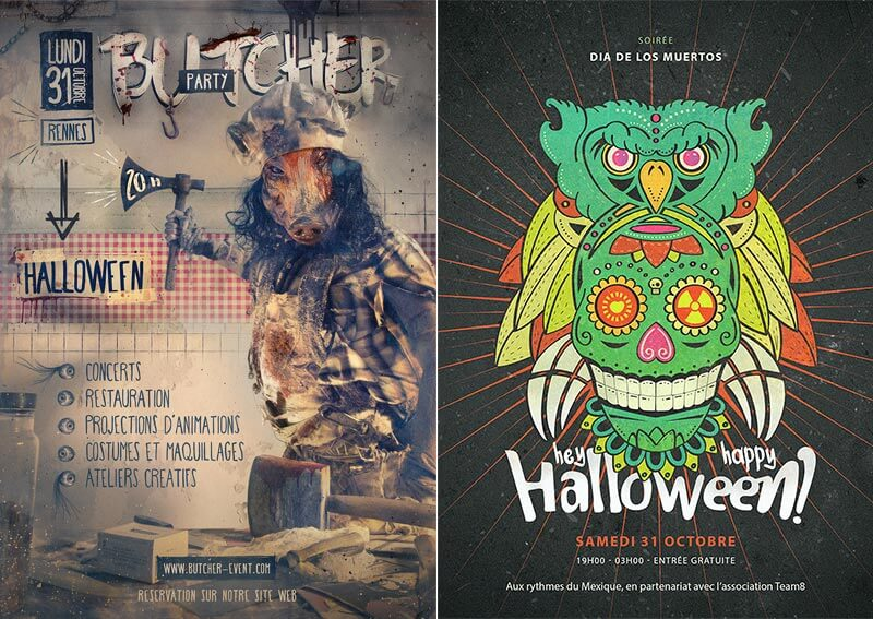 tuto butcher halloween photoshop