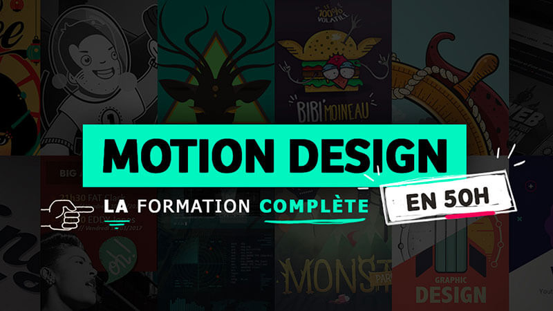 tuto motion design formation complete