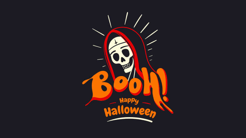 rendu tuto simplification logo halloween illustrator