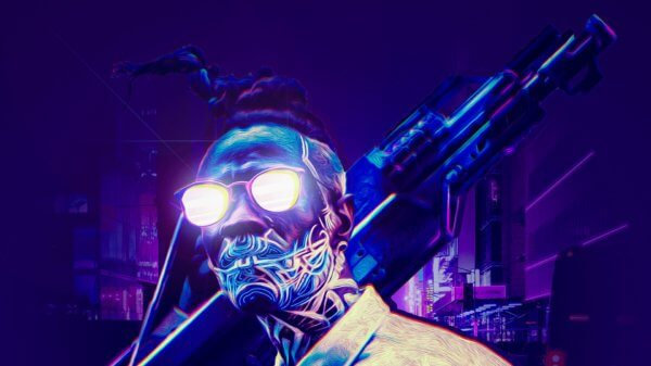 Cyberpunk 2077 redesign rendu final de la pochette du jeu !