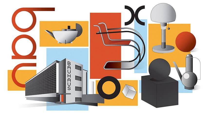 Rennaissance du Bauhaus, en Amérique à Chicago